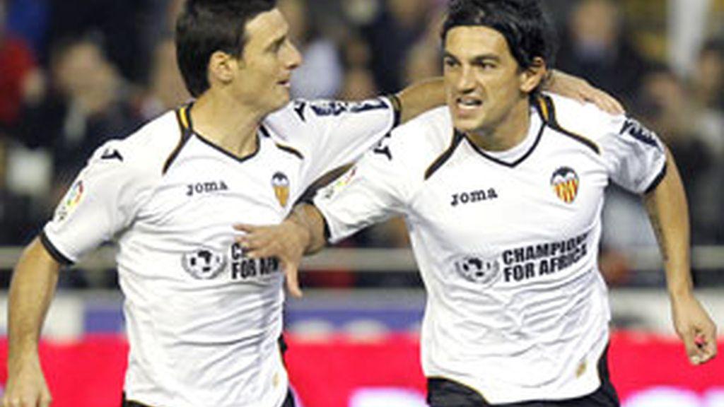El Espanyol no ha podido con la fortaleza de Mestalla