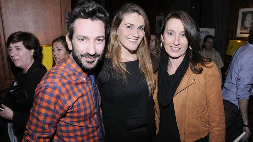 David Valldeperas, Carlota Corredera y Menchu González