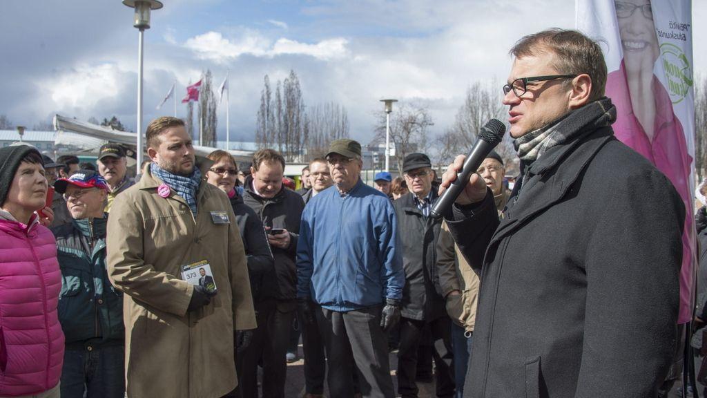 Juha Sipilä, líder del Partido de Centro finlandés