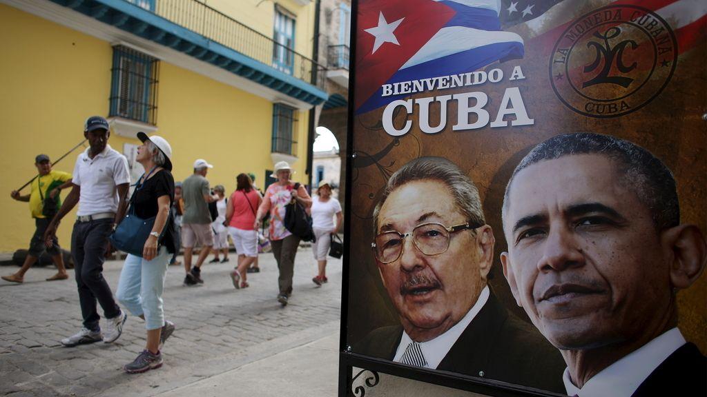 Cuba se engalana para la llegada de Obama