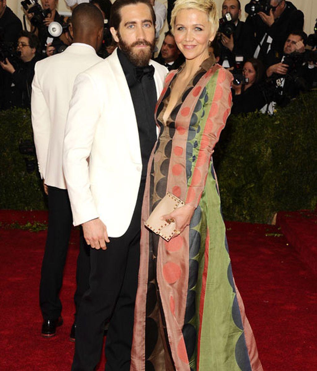 Los hermanos Jake y Maggie Gyllenhaal