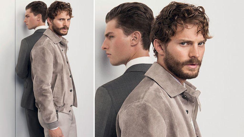 Jamie Dornan es la nueva imagen de la marca italiana Ermenegildo Zegna