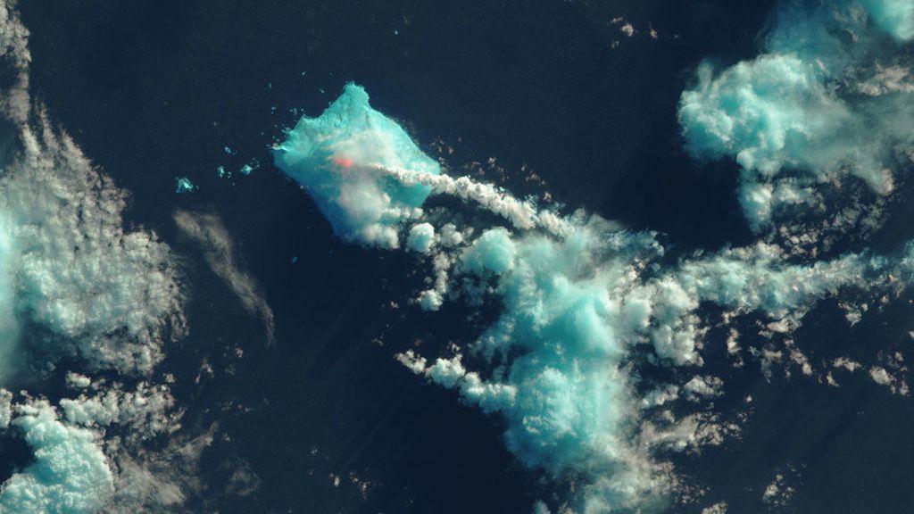 Un volcán despierta tras 60 años de inactividad