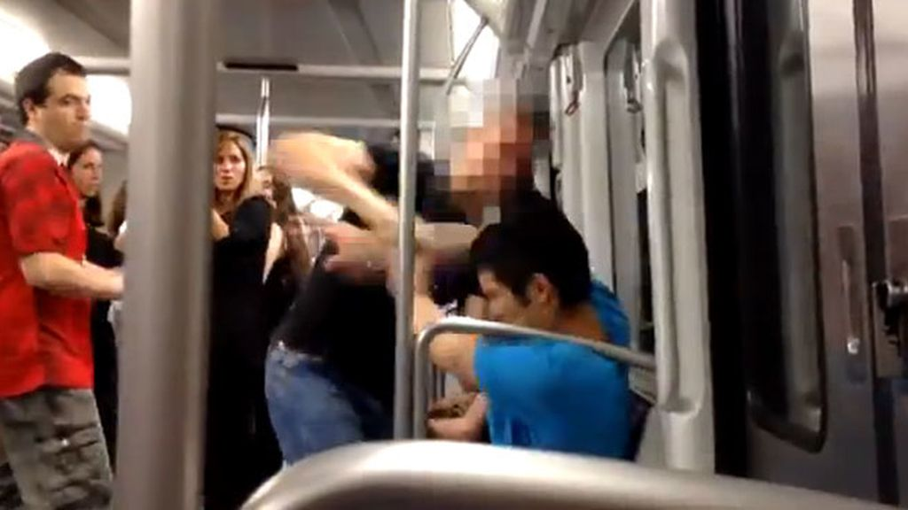 Agresión racista en el Metro de Barcelona