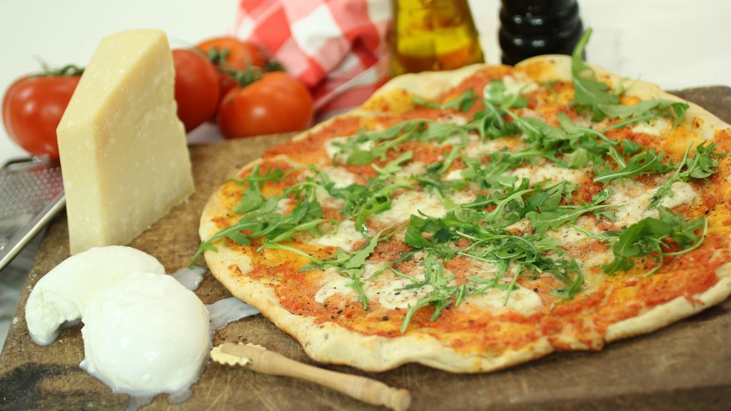 Pizza chorra de 'Robin Food'