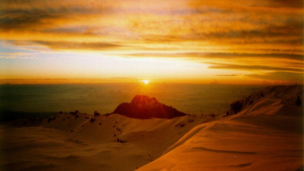 Desde el Kilimanjaro se puede ver todo África