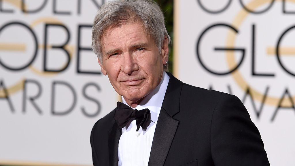 Harrison Ford en la alfombra roja
