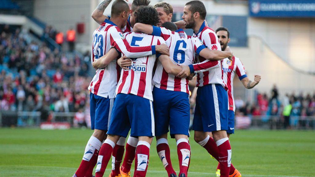 El Atlético tramita a la Real Sociedad en 10 minutos