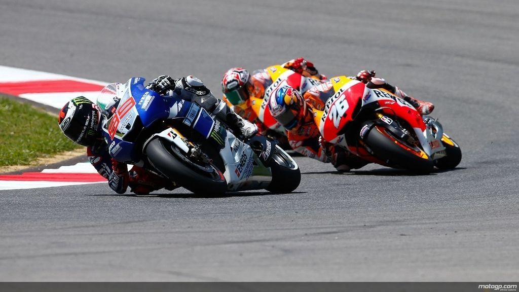 Lorenzo, por delante de Pedrosa y Márquez en el GP de Italia