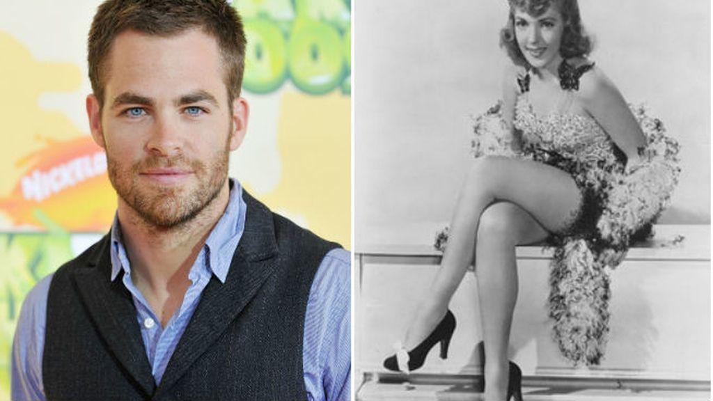 Pocos saben que Chris Pine es nieto de Anne Gwynne, una estrella de los 40