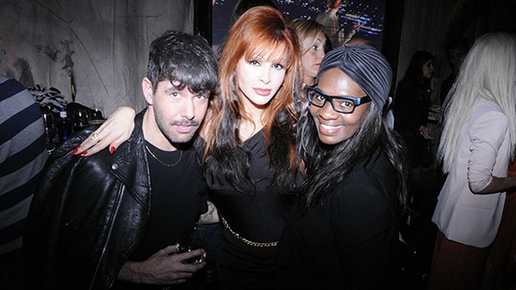 Pedriño, Yurena y Carolina Sobe