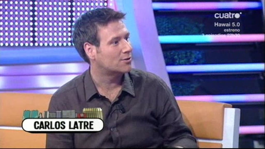Carlos Latre en TLJ