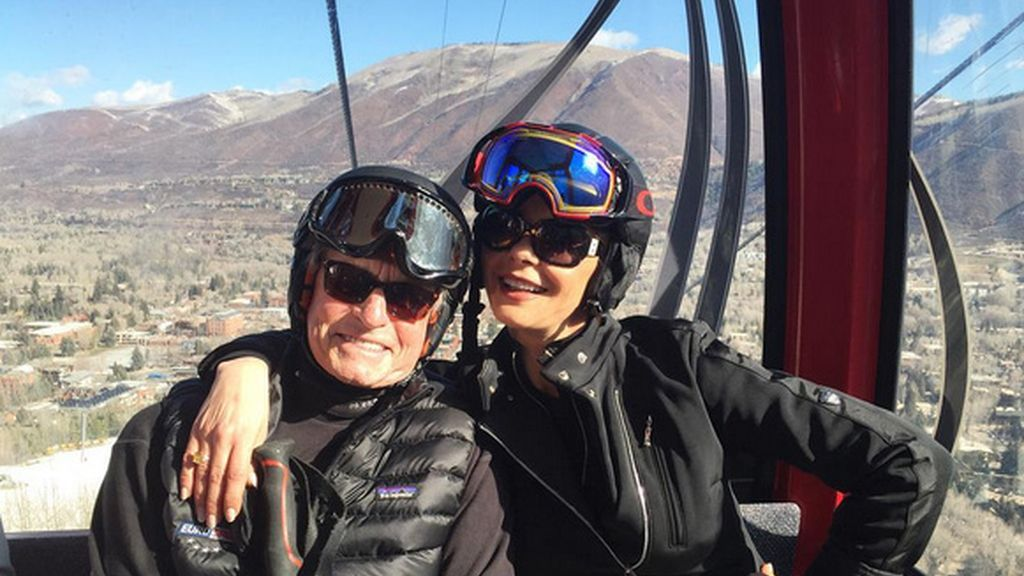 Michael Douglas y Catherine Zeta-Jones en Aspen