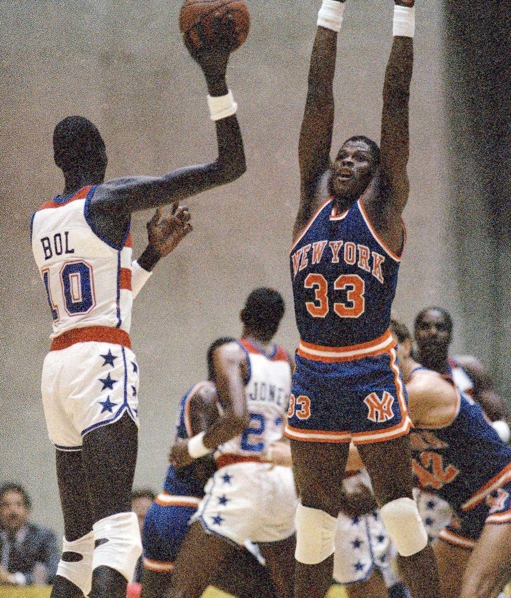 Patrick Ewing, NBA, Baloncesto