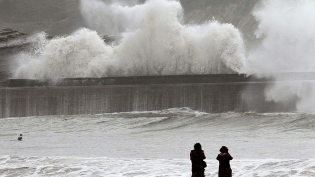 Alerta por mal tiempo en el norte de la península
