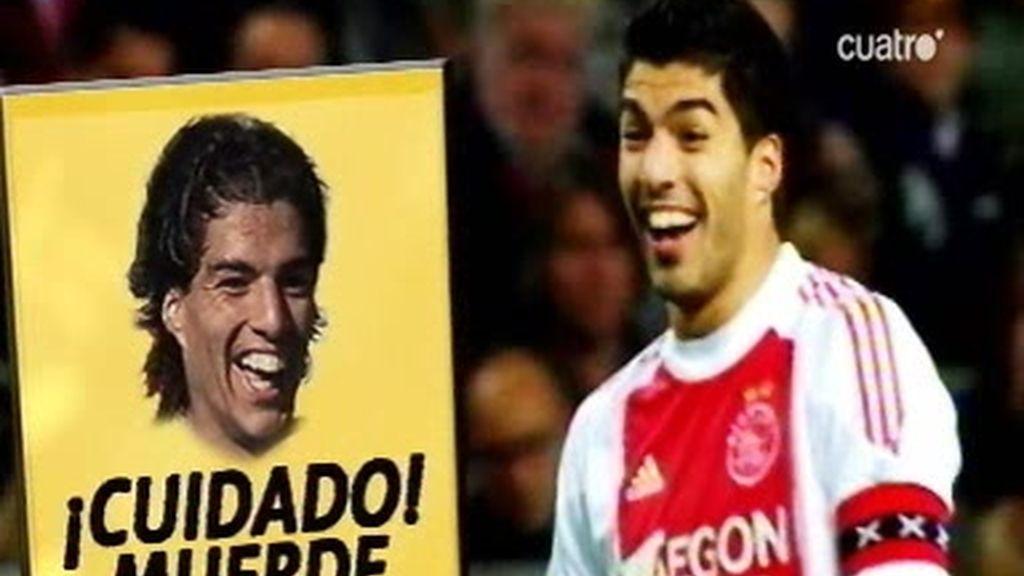 ¡Cuidado con Luis Suárez, que muerde!