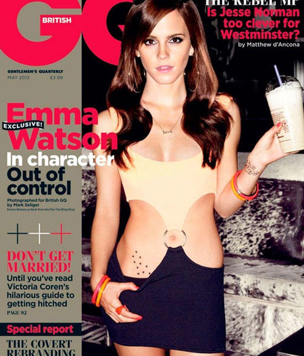 Emma Watson revisita el vestido con anilla de 'Pretty Woman'