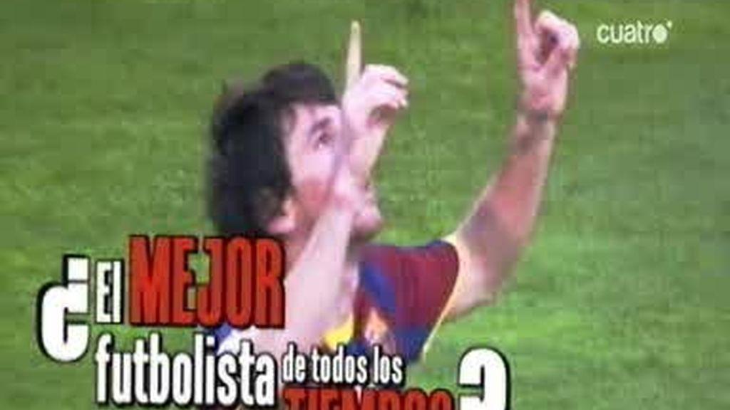 Messi, ¿el mejor jugador de la historia?