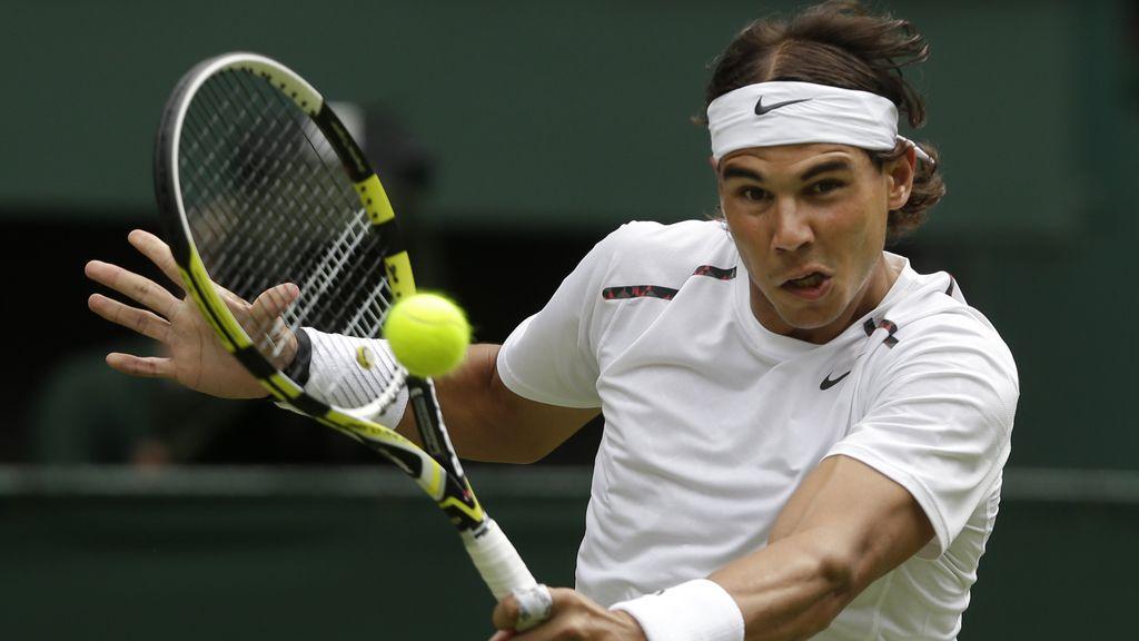Rafa Nadal en Wimbledon