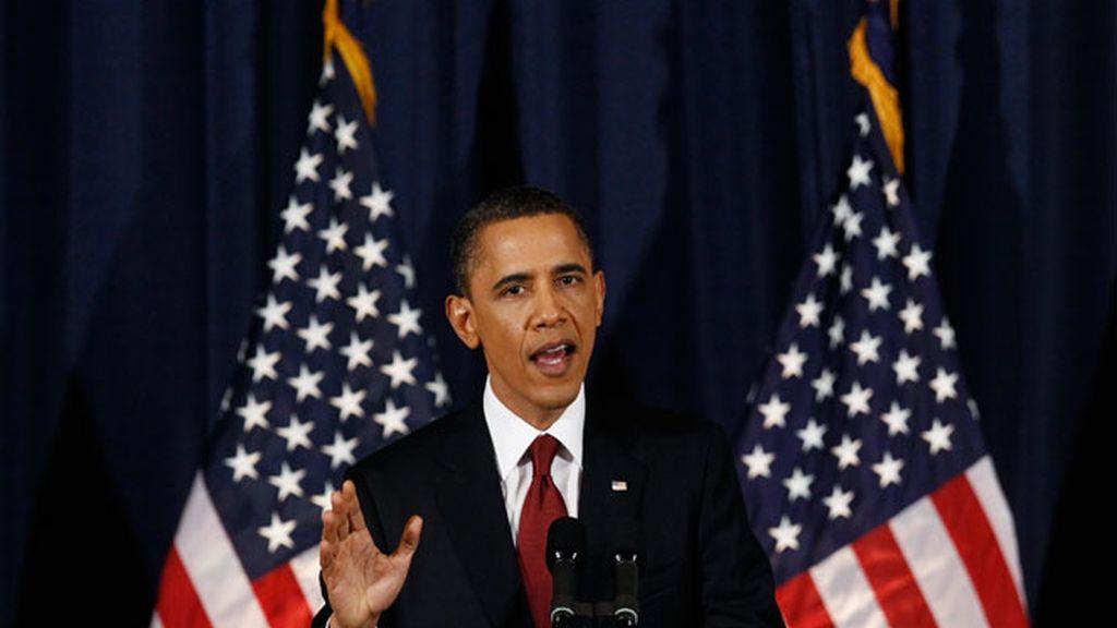 Obama reconoce gestiones para la salida de Gadafi del poder