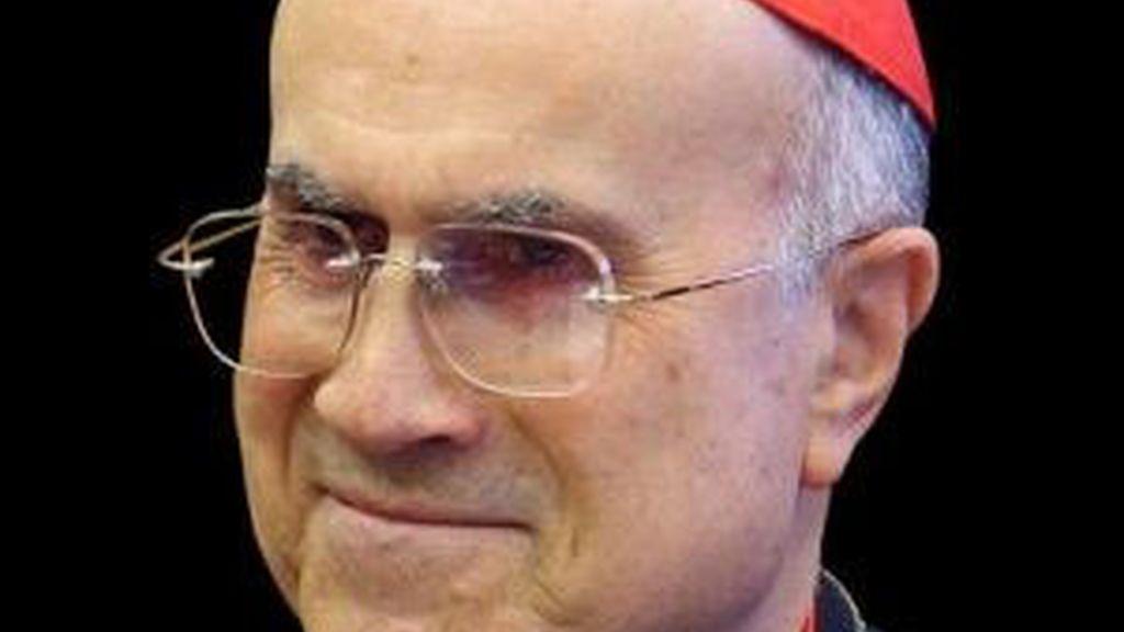 El cardenal Bertone en una imagen de archivo. Foto: EFE
