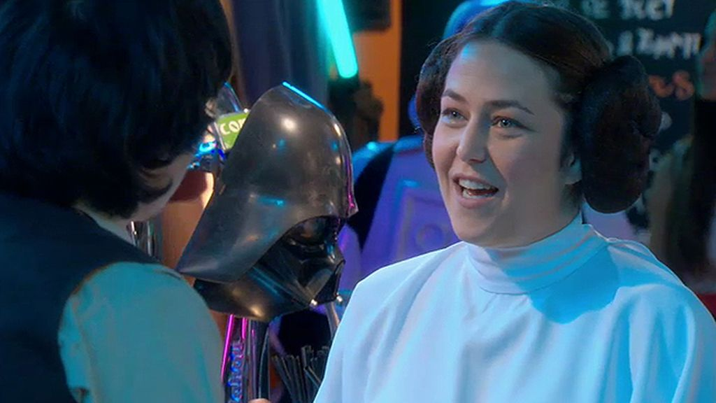 La saga 'Star Wars' invade 'Ciega a citas