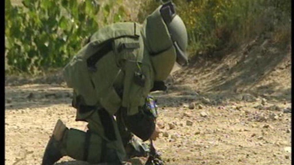 Cinco militares muertos en prácticas de desactivación de minas