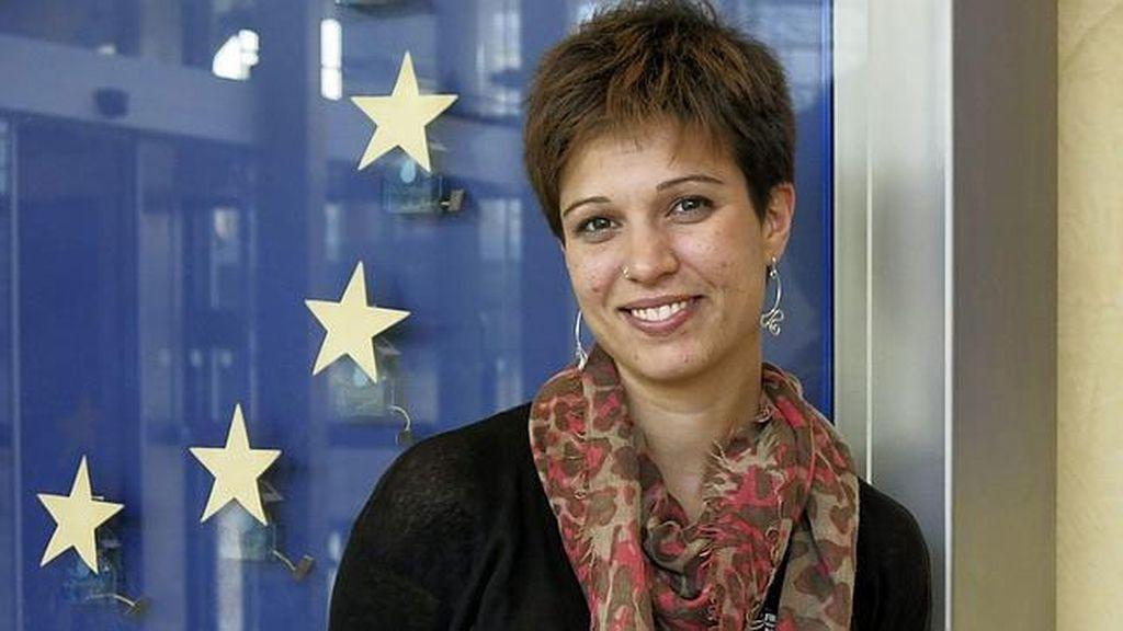 Beatriz Talegón, secretaria general de la Unión Internacional de Jóvenes Socialistas
