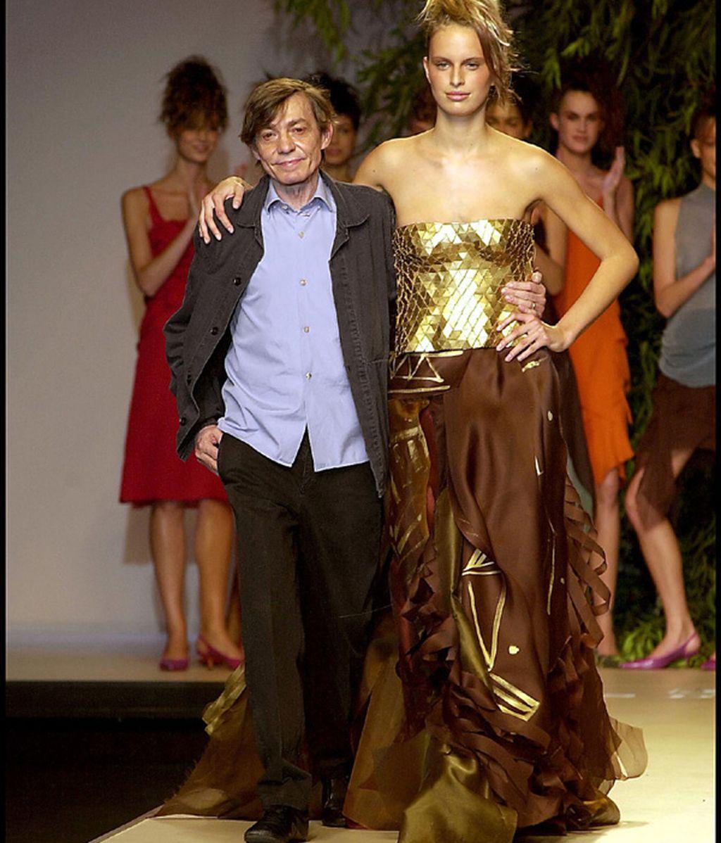 Las mejores 'tops', como Karolina Kurkova, quisieron trabajar con él