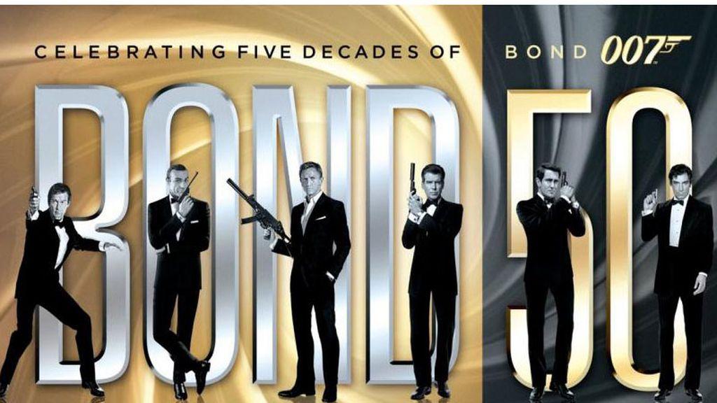 Los 50 años del agente 007