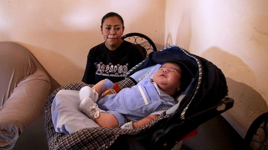 Dilam Aram Hernández ha sido calificado como el bebé más grande nacido en México con un peso de 6.6 kilogramos y 62 centímetros de estatura