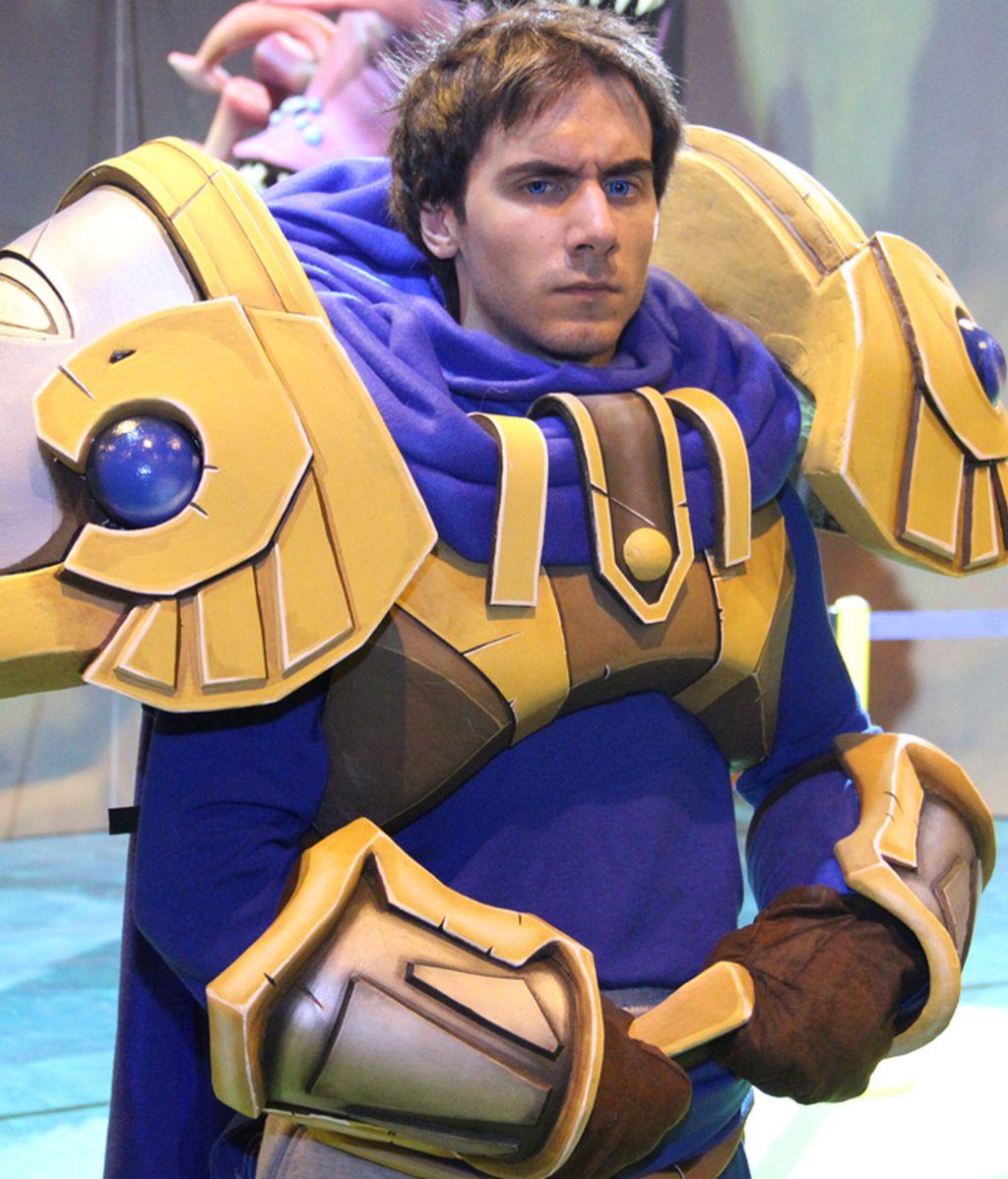 Garen, el valeroso guerrero del ejército de Demacia
