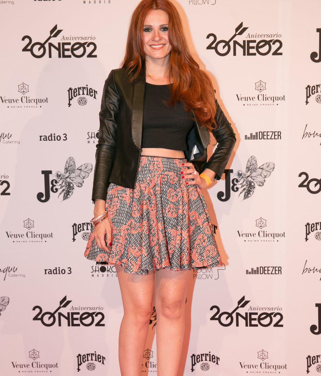Elena Ballesteros se divirtió en la '#Neo2Party'