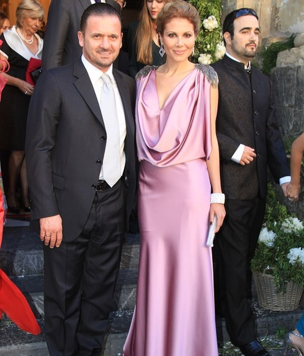 Pedja Mijatovic y su esposa