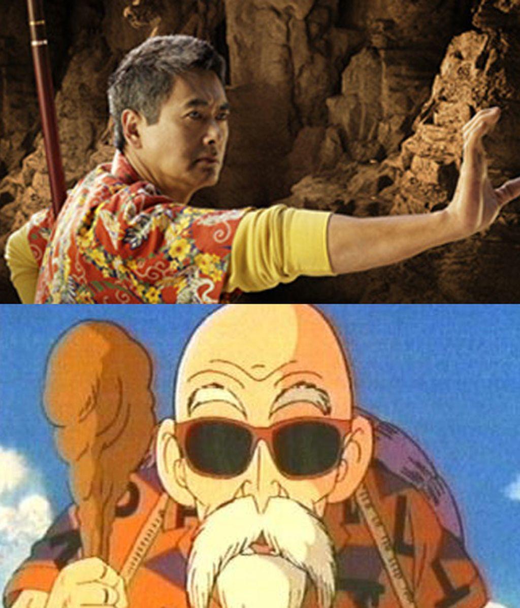 Chow Yun-Fat es el Maestro Tortuga