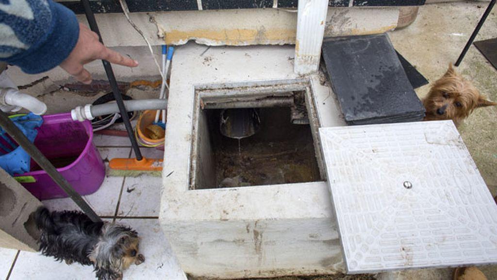 Encuentran un feto de 20 semanas en una alcantarilla de Cantabria