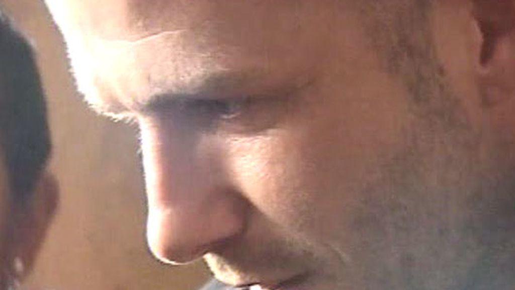 Beckham se mostró amable y cordial