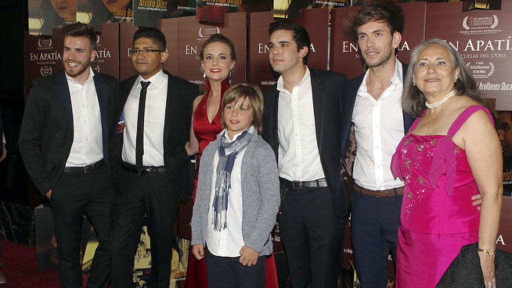 Christian Casas ha estrenado su primera película