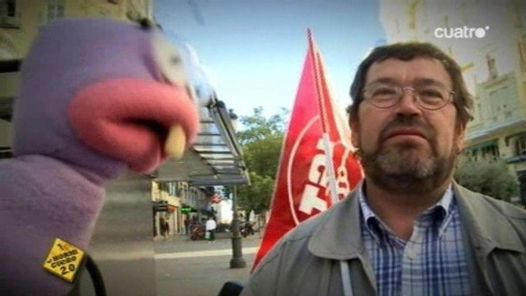 Trancas y Barrancas salen a la calle a comprobar como discurre la huelga general