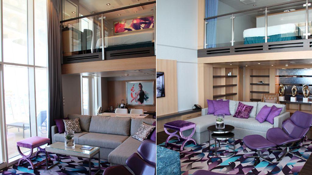 Camarotes con balcones virtuales y lujosas suites de varios pisos