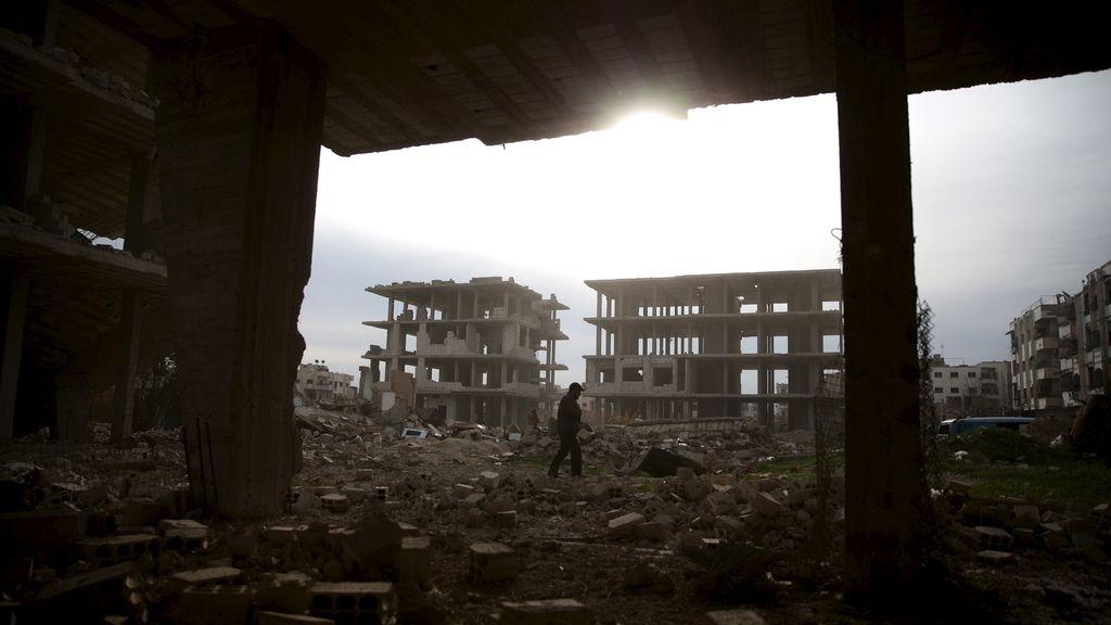 El horror de la guerra en Siria