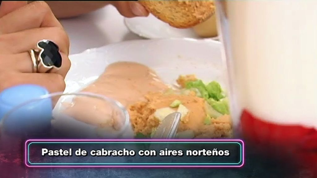 El menú del restaurante 'Nacido por un sueño'