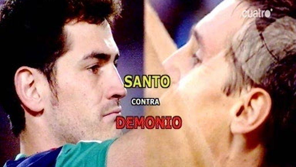 Casillas-Klose, uno de los grandes duelos del partido