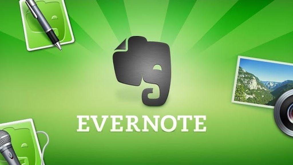 evernote, aplicación