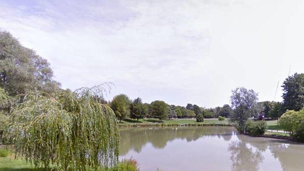 Parque Léo Lagrange,en Reims (Francia)