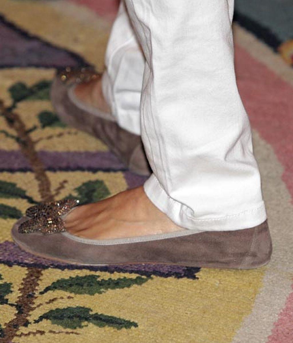 Se reafirma en el zapato plano