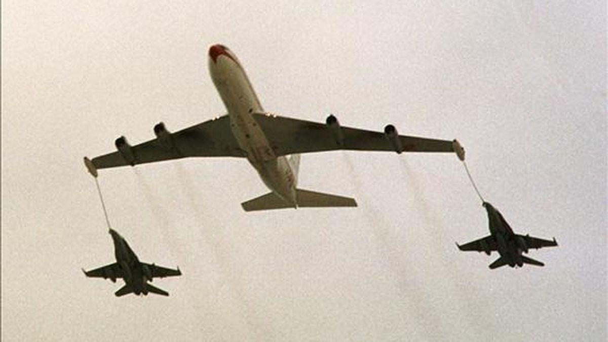 El coste ofrecido por el consorcio asciende a 150 millones de dólares por avión, con lo que el total sumará 29.550 millones. EFE/Archivo
