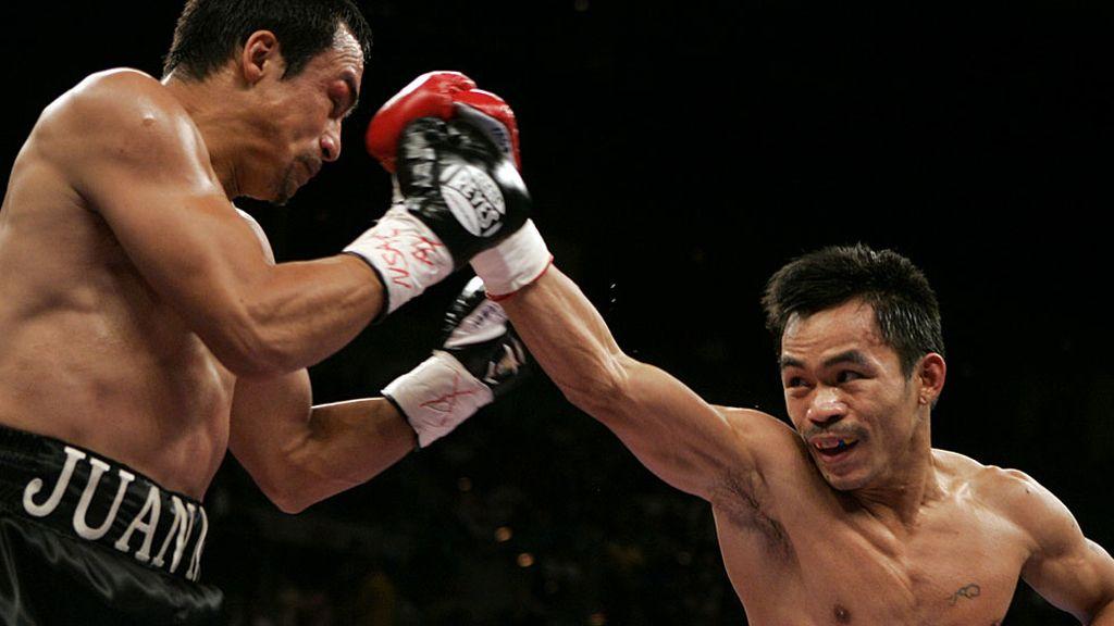 En su segunda pelea con J.M. Márquez, Pacquiao terminó con el 'negocio inacabado'