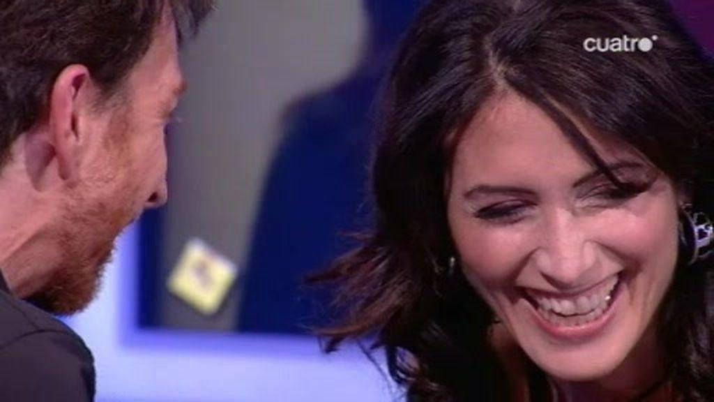 Lisa Edelstein juega con Pablo Motos a pronunciar nombre de ciudades en inglés y español