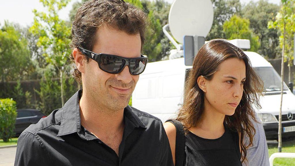 Rodolfo Sancho y su pareja Xenia Tostado